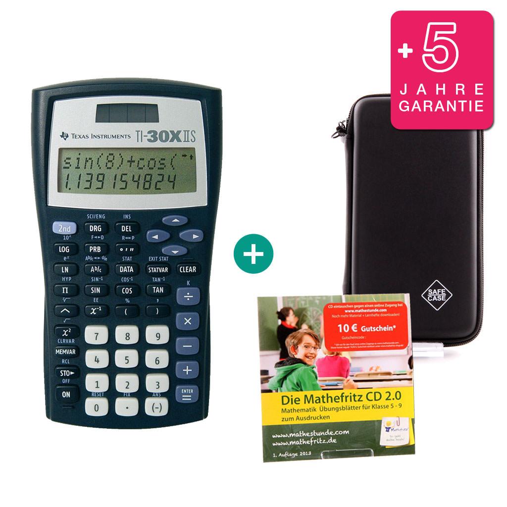 Casio FX CG 50 Taschenrechner Grafikrechner Schutztasche Lern-CD Garantie
